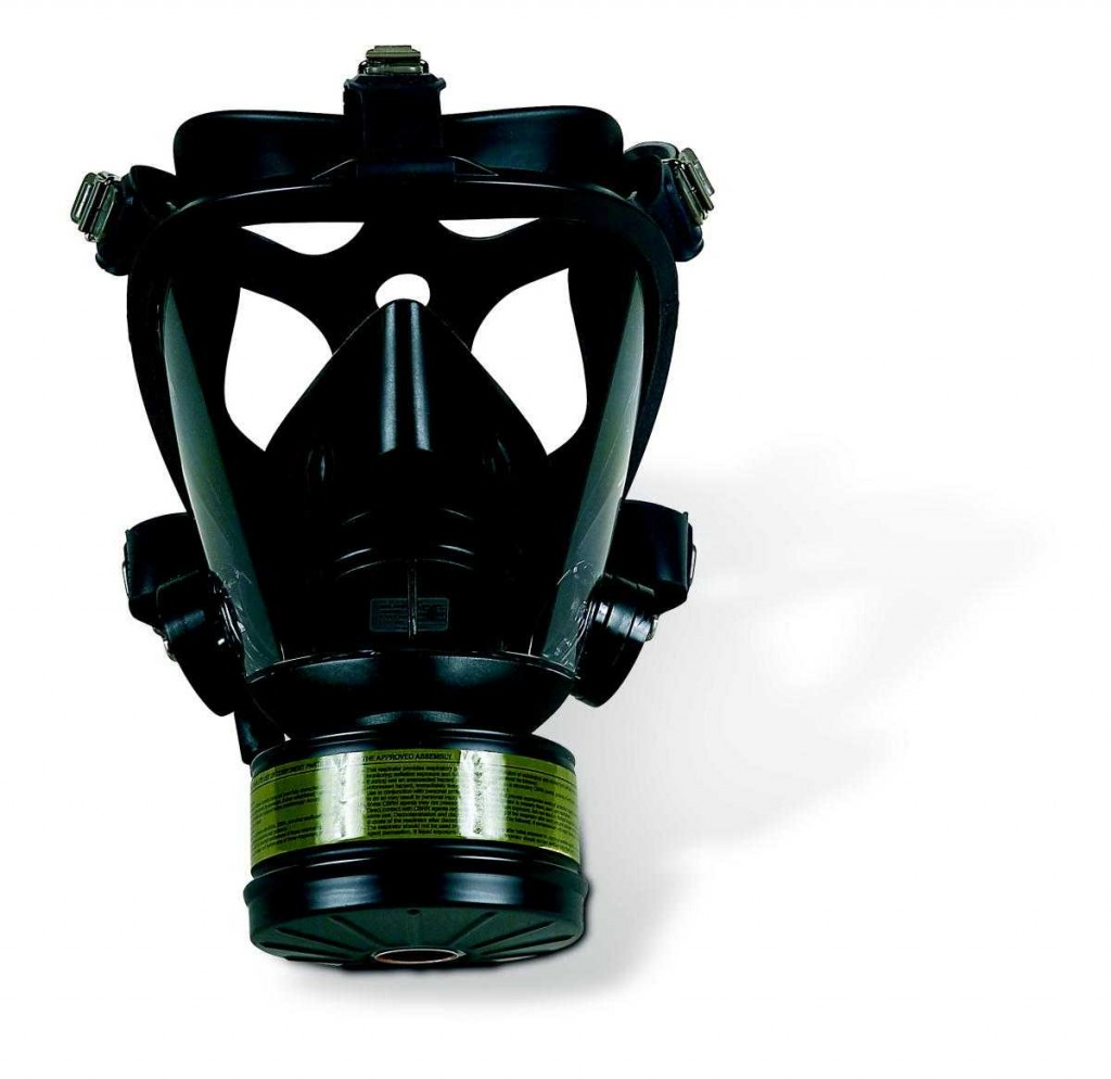 SURVIVAIR OPTI-FIT GAS MASK