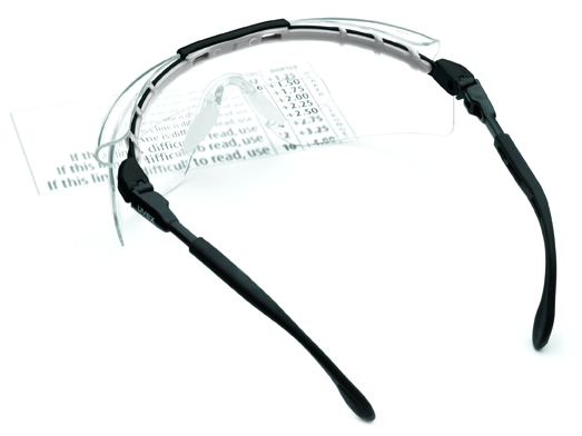 Uvex has expanded its extensive lens assortment for Uvex FitLogic(tm) Safety Eyewear to include a selection of reading magnifiers. Uvex FitLogic is the first safety eyewear design that allows you to customize the fit for your face.