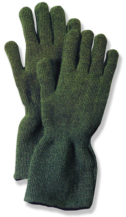 Winner of a prestigious 2005 R&D 100 Award, the Perfect Fit Carbtex(r) Electric Plasma Arc Protection Glove line incorporates a revolutionary new material that provides exceptional thermal protection. A patented oxidized outer shell in Carbtex fiber creates a protective barrier to its inner thermopl