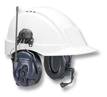 The new intrinsically safe powerComPLUS I.S. 2-way radio headset