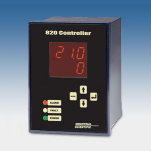 Industrial Scientific Corporation, the innovative leader in gas detection and monitoring equipment, is pleased to launch the low-cost 820 Controller as a flexible solution for fixed-point gas monitoring installations.