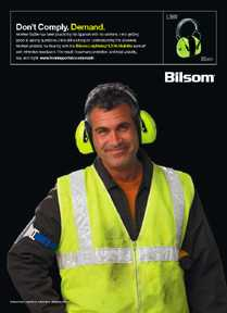 A new ad campaign recently launched by the Bacou-Dalloz Hearing Safety Group looks beyond issues of compliance and attenuation ratings to focus on one of the most important elements of any hearing conservation program -- the noise-exposed workers who wear hearing protectors on the job.