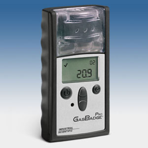 """Industrial Scientific Corporation enhanced its full-featured, """"dockable"""" GasBadge Pro single gas monitor with the introduction of a Hydrogen Cyanide (HCN) sensor option."""