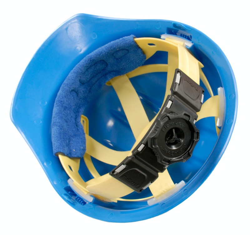 C30 Blue Ratchet Hard Hat