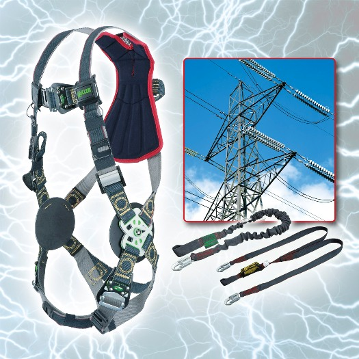 Arc-rated fall protection