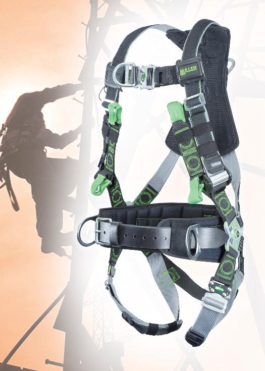Tower Climbing Harness
