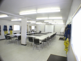 North on-site training facility
