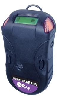 GammaRAE II R, a handheld integrated detector and dosimeter for gamma radiation.