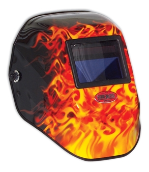 The latest in welding helmet design from North Safety Products.