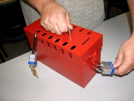 The tamper-free Group Lock Box