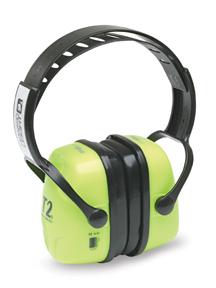 Thunder T2HV Hi-Visibility Earmuffs