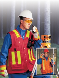 The new surveyor's vest from North Safety