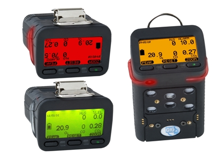 G460 detects up to six gases simultaneously