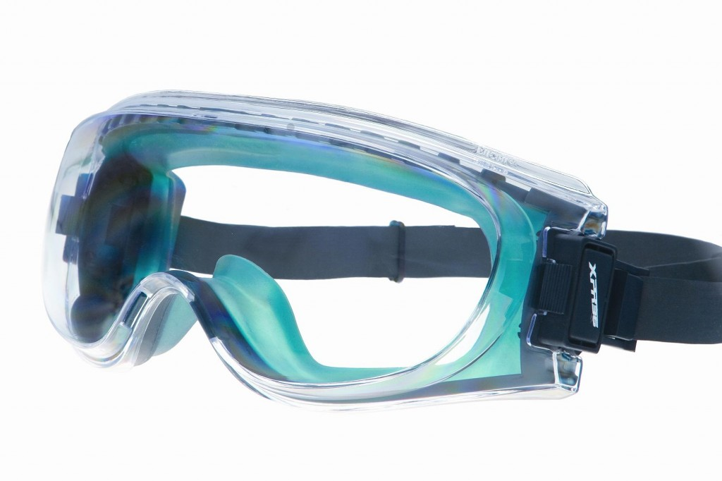 The sleek, ergonomic design of the XPR36 High Impact Chemical Splash Goggle provides maximum style and comfort with 360 Degree Circuitous Ventilation System (patent-pending) and the QD2 easy adjustment strap