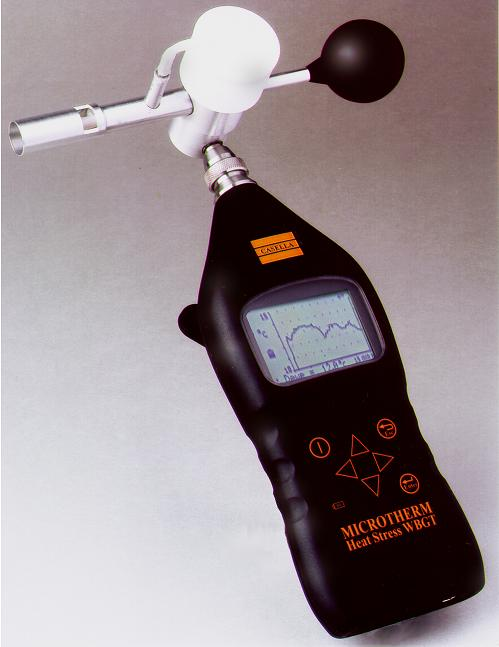 Microtherm heat stress monitor