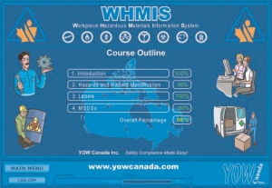WHMIS courses are among the many types of online training currently available from various providers.