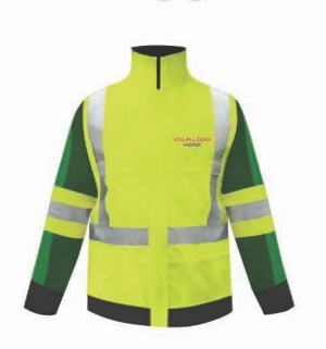 The marketplace now offers an on-line software tool that allows equipment purchasers to customize the look of hi-vis apparel.