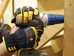 Whether guarding against heat, impact, vibration or abrasion, glove design, linings and coatings will help.