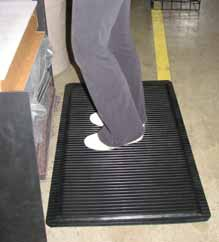 Mats can be used for a wide range of applications. Consider anti-fatigue options.