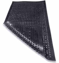 Specific workplace conditions will guide purchasing decisions regarding which matting materials and designs will work best.