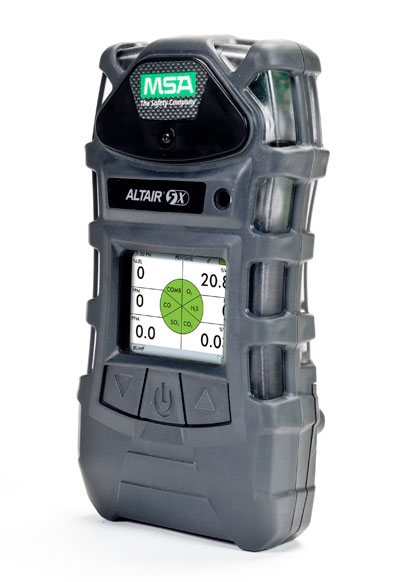 MSAs ALTAIR 5X Multigas Detector detects up to six gases simultaneously.