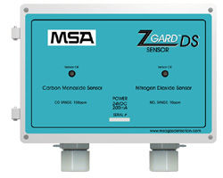 The sensors employ electrochemical sensors, which generate a representative output signal proportional to the calibrated operating range.