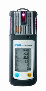 Using infrared technology, the new X-am 5600 mobile device can measure up to six gases simultaneously.