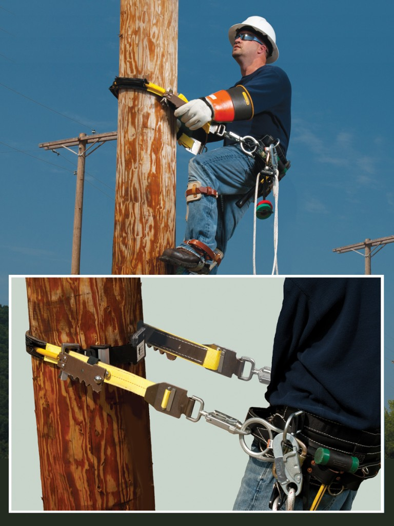 Designed by linemen for linemen to maximize safety, comfort and convenience when climbing.