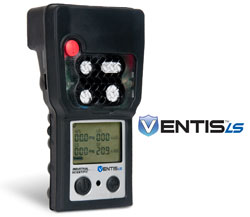 The Ventis LS multi-gas detector uses Wi-Fi and location-based technologies to remotely monitor those working in potentially hazardous environments.