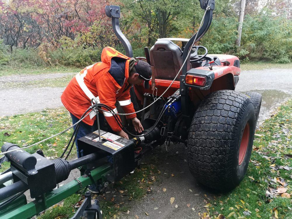 Golf Tractor