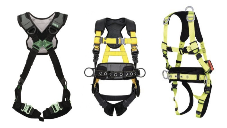 Strapping in for fall protection